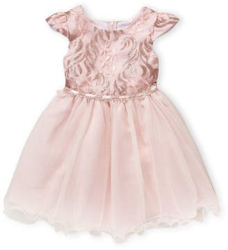 Rare Editions Girls 4-6x) Pink Sequin Tulle Dress