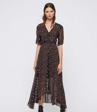 AllSaints Macella Ditz Dress