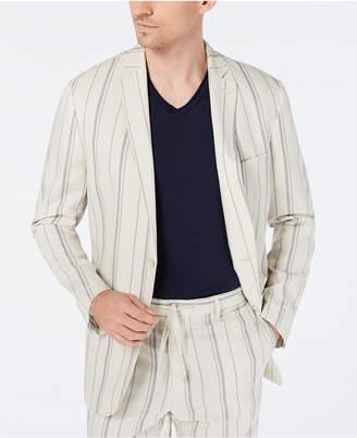 INC International Concepts I.n.c. Men Slim-Fit Striped Blazer