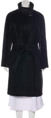 Cinzia Rocca Llama & Virgin Wool Coat
