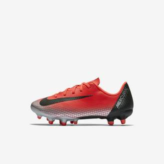 Nike Jr. Mercurial Vapor XII Academy CR7 Little Kids' Multi-Ground Soccer Cleat