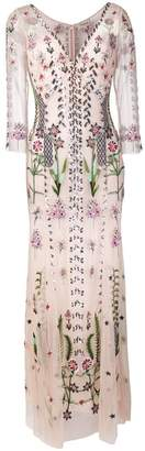 Temperley London floral embroidered evening dress