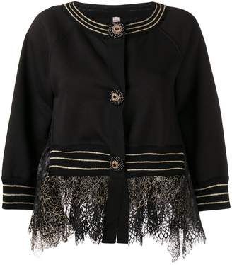 Antonio Marras lace detail jacket