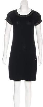 Chanel Tulle Knit Dress