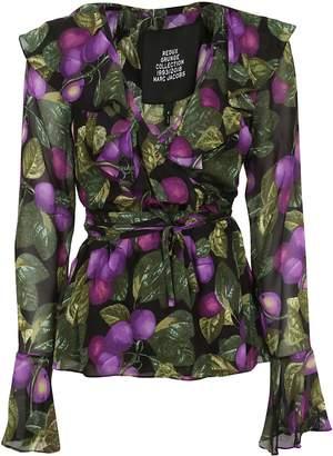 Marc Jacobs Floral Blouse