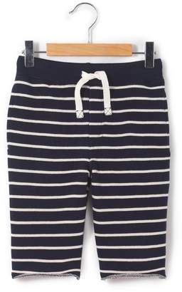 La Redoute Collections Striped Fleece Bermuda Shorts, 3-12 Years
