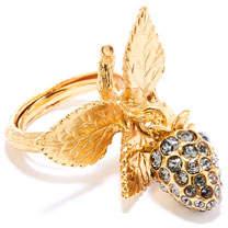 Oscar de la Renta Berry Dangle Ring