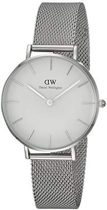 Daniel Wellington Classic Petite Sterling in White