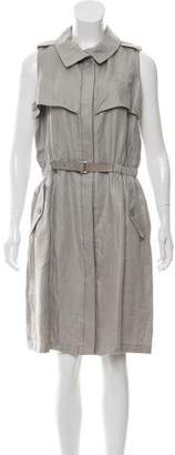 Armani Collezioni Linen Knee-Length Dress w/ Tags