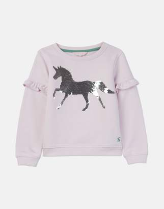 22d2a423f Joules Pink Horse Tiana Sweatshirt 3-12 Years Size 7Yr-8Yr