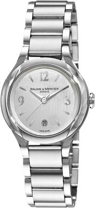 Baume & Mercier Women's 8767 Ilea Swiss Quartz Watch