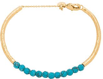 gorjana Power Gemstone Cuff Bracelet in Metallic Gold. $48 thestylecure.com
