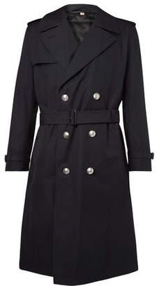 Burberry Camborne Cotton-Gabardine Trench Coat With Detachable Liner