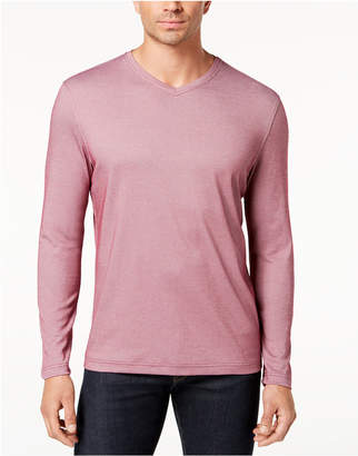 Tasso Elba Men's Supima Cotton Blend V-Neck T-Shirt, Created for Macy's