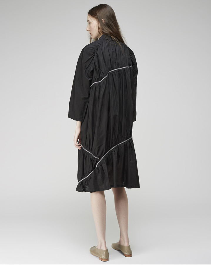 Zucca zipper lawn dress