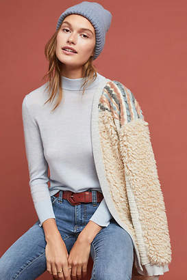 Moth Audrey Mock Neck Knit Pullover