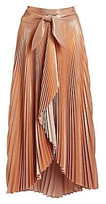 A.L.C. (エーエルシー) - A.L.C. Women's Eleanor Pleated Asymmetric Midi Skirt