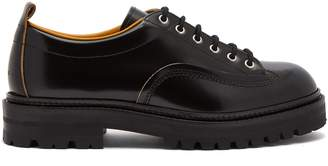 Marni Raised-sole leather derby shoes