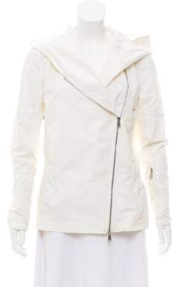 Ralph Lauren Hooded Asymmetrical Jacket