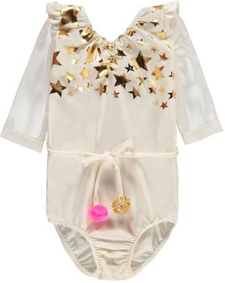 ATSUYO ET AKIKO Violetta Pompom Star Leotard $139.20 thestylecure.com