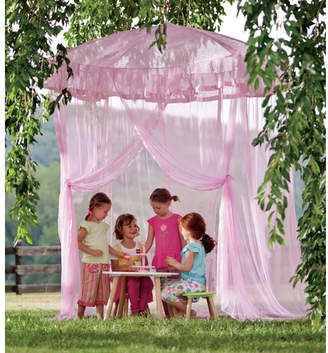 HearthSong Sparkling Lights Bed Canopy
