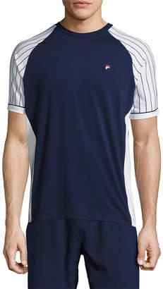 Fila Heritage Pinstripe Raglan Crewneck T-Shirt