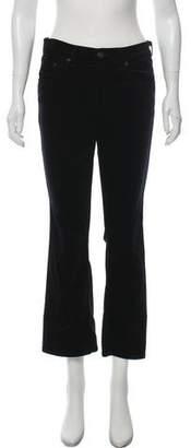 Rag & Bone Velvet Mid-Rise Jeans