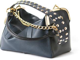 Sacai Studded Leather Coin Purse Bag, Black