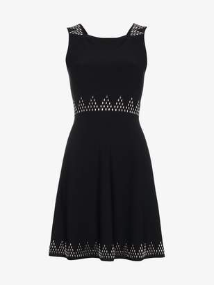 Alaia Square Neck Fitted Dress