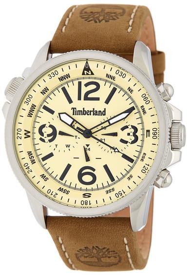 TimberlandTimberland Men&s Campton Multifunction Leather Strap Watch