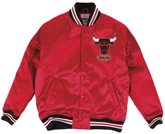 Mitchell & Ness Men Chicago Bulls Satin Jacket