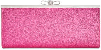 INC International Concepts I.N.C. Carolyn Glitter Clutch, Created for Macy's