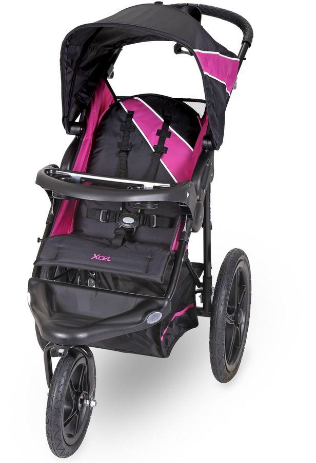 Baby TrendBaby Trend® Xcel Jogger Stroller in Raspberry