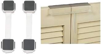 Mommys Helper Mommy's Helper Bi-Fold Door Lock with Munchkin Xtraguard Multi Use Latches