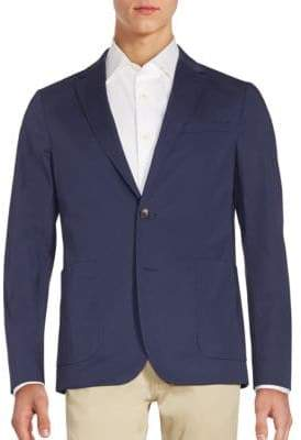 Michael Kors Long Sleeve Cotton Jacket