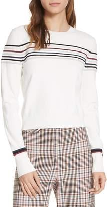 Veronica Beard Fenn Stripe Sweater