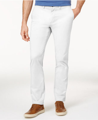 Tommy Hilfiger Men's Slim-Fit Stretch Chino Pants $59.98 thestylecure.com