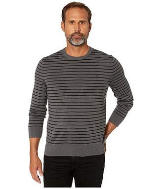 Calvin Klein Long Sleeve Crew Neck Cotton Silk