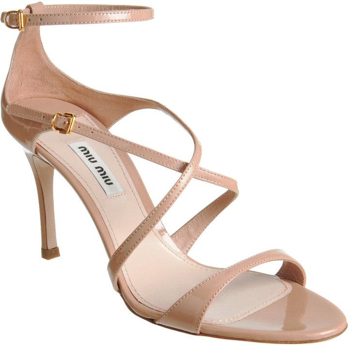 Miu Miu Criss-Cross Sandal