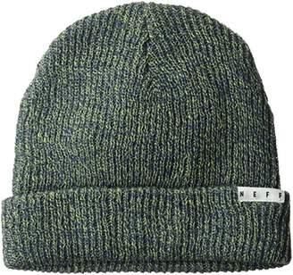 Neff Heather Fold Cuffed Beanie Unisex Best Soft Winter Hat Cap