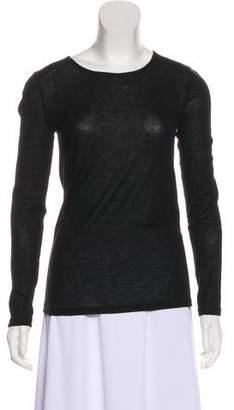 Loro Piana Semi-Sheer Cashmere Sweater