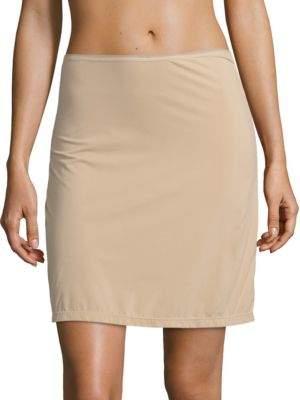 Elita Porcelain Silk Slip Skirt