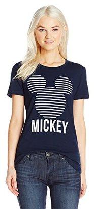 Disney Women's Mickey Head Stripes $19.99 thestylecure.com