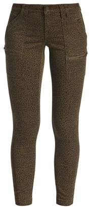 Joie Leopard Print Skinny Pants