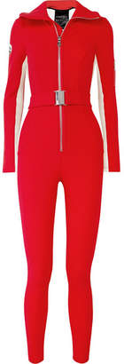 Cordova The Aspen Striped Ski Suit - Red