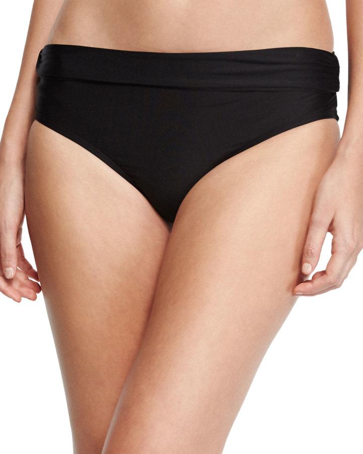 Luxe by Lisa Vogel Premier High-Waist Banded Swim Bottom 4
