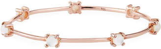 Ippolita Rose Textured Stone Bangle, Mother-of-Pearl