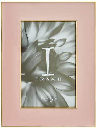 Very Gold and Pink Border Photo Frame