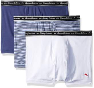 Tommy Bahama Men's Breathe Easy 3 Pack Boxer Brief-Multi Blue
