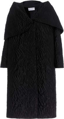 Dice Kayek Silk Cloque Overcoat